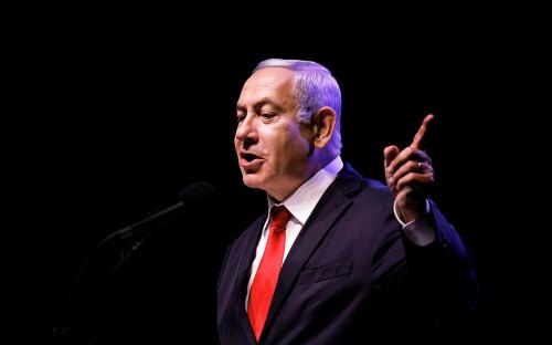 <p>Биньямин Нетаньяху</p>