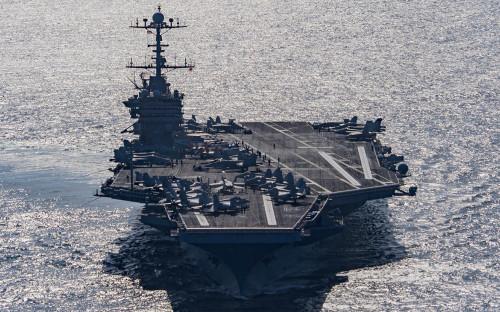 <p>Авианосец USS Harry S. Truman</p>  <p></p>