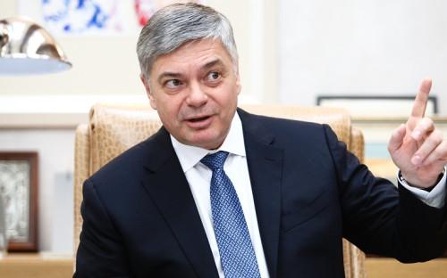 <p>Президент Федерации гандбола России (ФГР) Сергей Шишкарев</p>