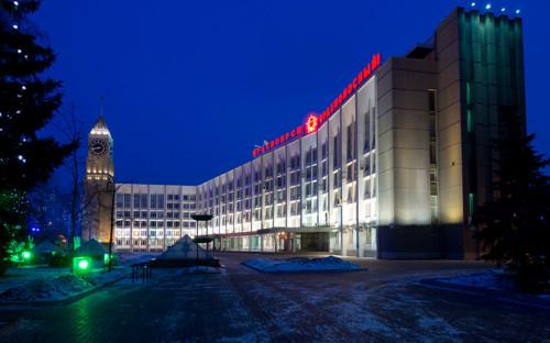<p>Здание администрации города Красноярска</p>