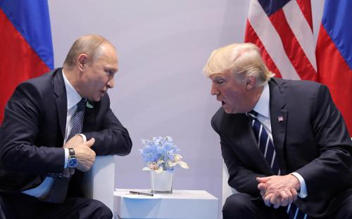 <p>Владимир Путин и Дональд Трамп</p>  <p></p>