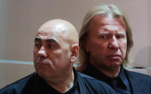 Иосиф Пригожин и Виктор Дробыш (слева направо)