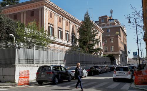 <p>Посольство России в Италии</p>