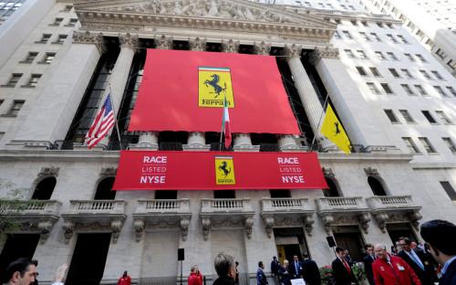 IPO Ferrari на Нью-Йоркской фондовой бирже