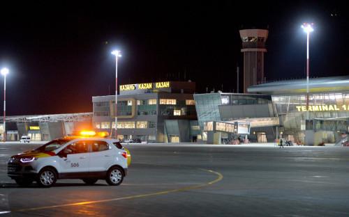 <p>Терминал Международного аэропорта Казань</p>  <p></p>