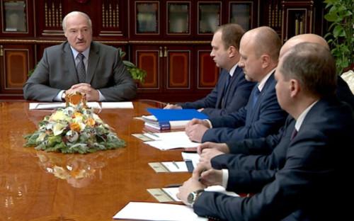 Совещание Александра Лукашенкос руководством нефтехимического комплекса