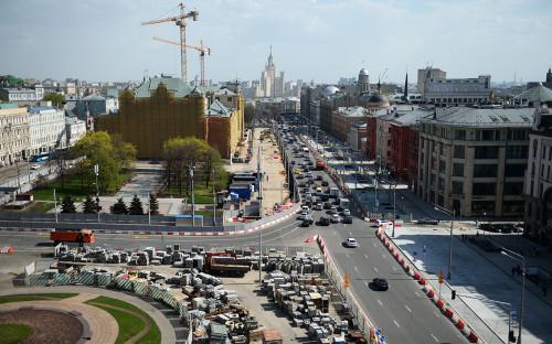 Реконструкция в центре Москвы по программе «Моя улица»