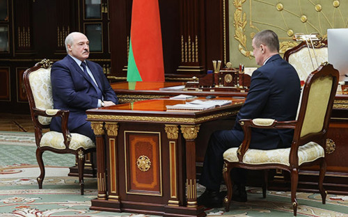 <p>Александр Лукашенко и&nbsp;Леонид Заяц</p>