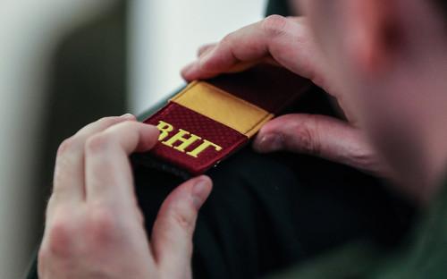 Презентация образцов формы для военнослужащих и сотрудников Росгвардии