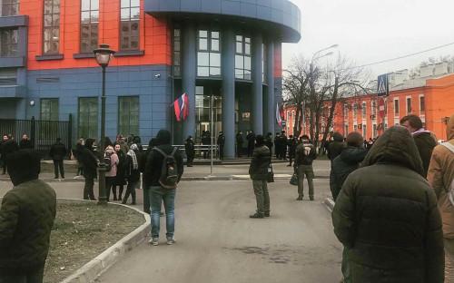 Здание, где расположены Тверской и Мещанский районные суды