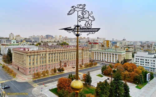 Фото: Белгород (Фото: Вадим Радченко / БРОО «Федерация Воздухоплавания Белогорья»)