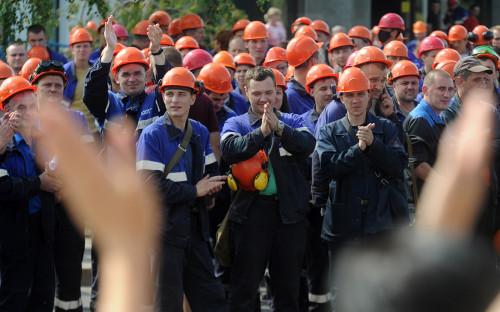 Забастовка рабочих предприятия «Гродно Азот»