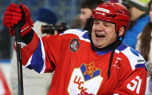 <p>Председатель профсоюза игроков КХЛ олимпийский чемпион 1992 года Андрей Коваленко</p>