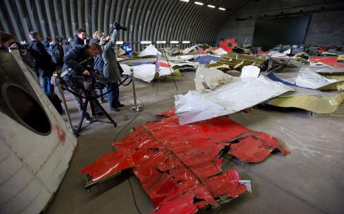 Обломки рейса MH-17