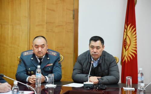 Улан Ниязбеков и Садыр Жапаров