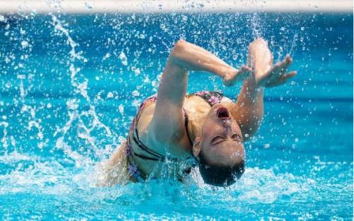 Фото:Варвара Субботина (Фото: сайт Федерации синхронного плавания России)