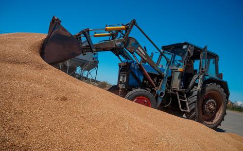 Уборка пшеницы в Краснодарском крае. 6 июля 2017 года