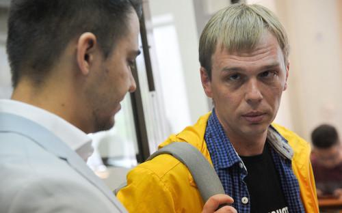 Иван Голунов (справа)