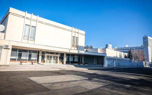 <p>Здание посольства РФ в Болгарии</p>