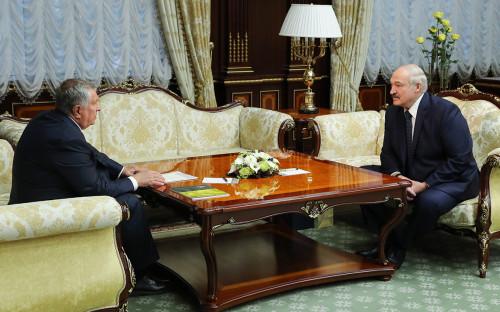Игорь Сечин и Александр Лукашенко