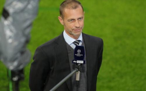 Фото:Президент УЕФА Александер Чеферин (Фото: Global Look Press)