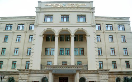 Фото:Минобороны Азербайджана
