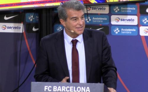 "Фото:Президент ""Барселоны"" Жоан Лапорта (Фото: Global Look Press)"