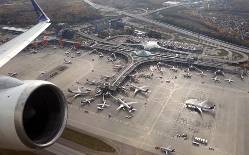 Вид на аэропорт Шереметьево