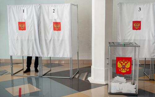 Избирательный участок в Тамбове
