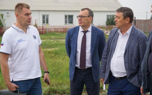 Сергей Ставицкий — слева