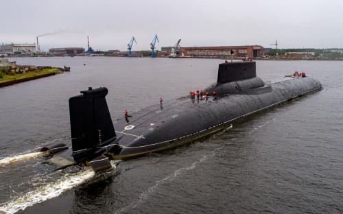 Атомная подводная лодка в Северодвинске