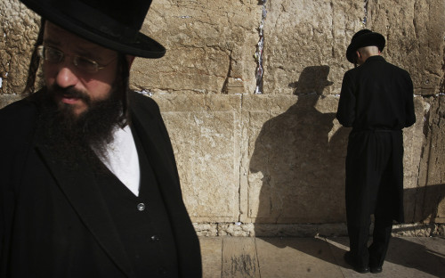 Стена плача вИерусалиме