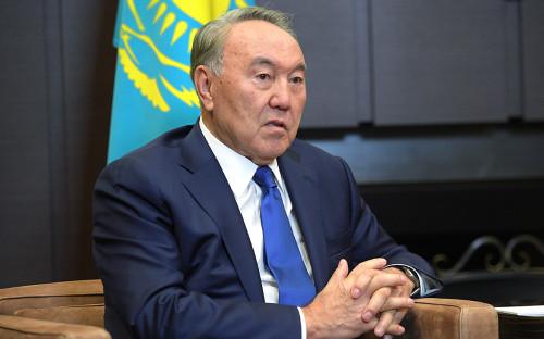 <p>Нурсултан Назарбаев</p>
