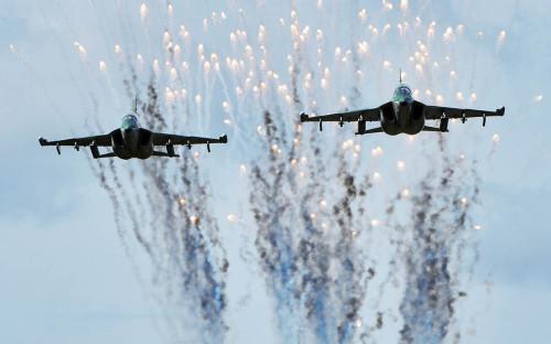 <p>Самолеты Як-130 ВВС Белоруссии</p>  <p></p>