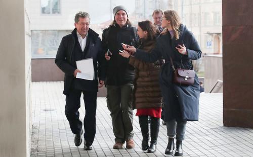 Наиль Маганов (слева) перед совещанием с министром энергетики РФ Александром Новаком