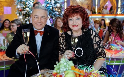 Евгений Петросян иЕлена Степаненко. 2009 год