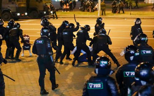 <p>Массовые&nbsp;акции протеста после президентских выборов в Белоруссии, Минск</p>