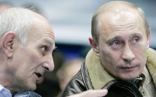 Владимир Путин иАнатолий Рахлин