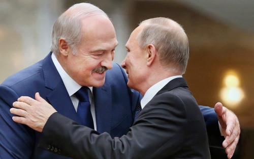 """<p></noscript> Александр Лукашенко и Владимир Путин </ p>""""/></a>                         </div> </div> <p>Кроме того, белорусский президент сообщил, что раньше его называли отцом.  """"Ну, я же папа. Как ни крути, папа и папа"""", – пояснил Лукашенко, – """"я привык.  В начале августа в интервью украинскому журналисту Дмитрию Гордону Лукашенко <a target="""
