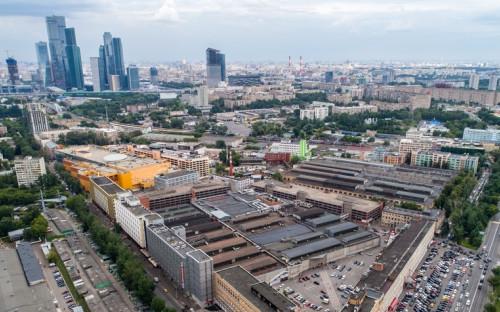 Вид на Филевский Парк