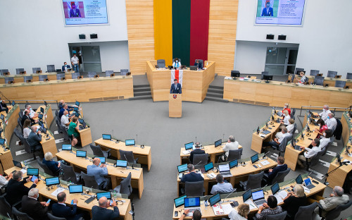 Фото:Lietuvos Respublikos Seimas / Flickr