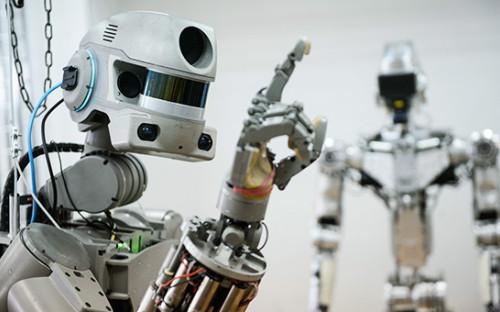 <p>Робот Fedor</p>  <p></p>