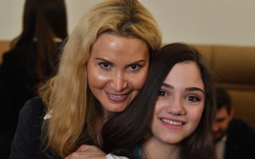 Фото:Этери Тутберидзе и Евгения Медведева (Фото: Global Look Press)