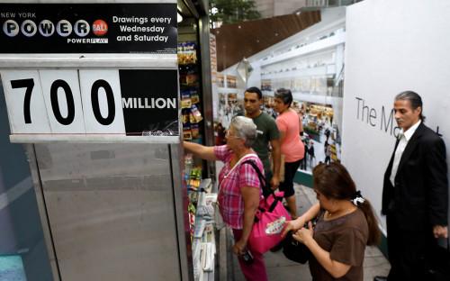 <p>Покупатели лотерейных билетов Pоwerball</p>  <p></p>