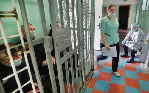 <p>Вакцинация заключённых от коронавируса в Санкт-Петербурге</p>