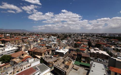 Вид на город Никосия