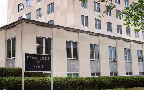 <p>Государственный департамент США</p>