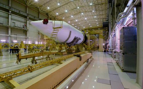 Монтажно-испытательный корпус стартового комплекса ракеты «Ангара»