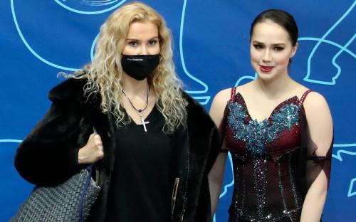 Этери Тутберидзе и Алина Загитова