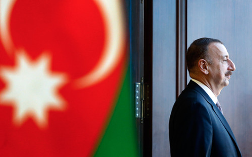 <p>Президент Азербайджана Ильхам Алиев</p>  <p></p>